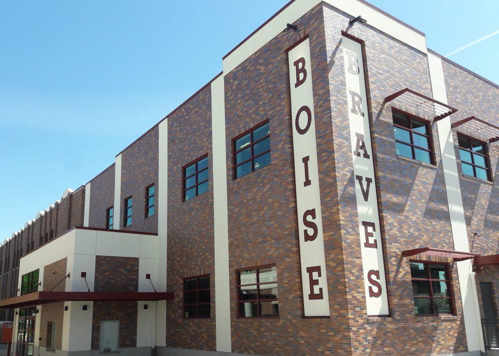Boise High School Gym Renovation